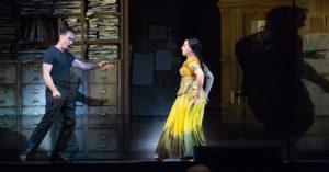 """Mariusz Kwicień i Diana Damrau w """"Poławiaczach pereł"""" Georges'a Bizeta, The Metropolitan Opera"""