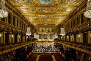 Próby do koncertu noworocznego 2017 Wiener Philharmoniker, fot. Benedikt Dinkhauser