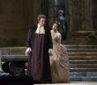 """Matthew Polenzani w tytułowej roli i Nadine Sierra jako Ilia w """"Idomeneo"""" Mozarta, fot. Marty Sohl / Metropolitan Opera"""
