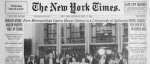 fot. The Metropolitan Opera