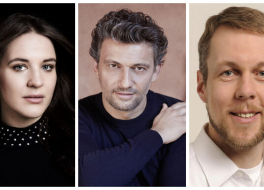 """Lise Davidsen, Jonas Kaufmann i Georg Zeppenfeld w live-streamingu """"Walkirii"""" z Monachium"""
