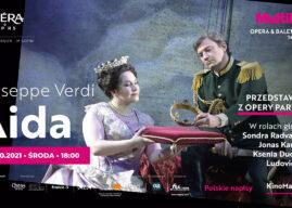 """Już w środę """"Aida"""" z Sondrą Radvanovsky i Jonasem Kaufmanem w Multikinie"""